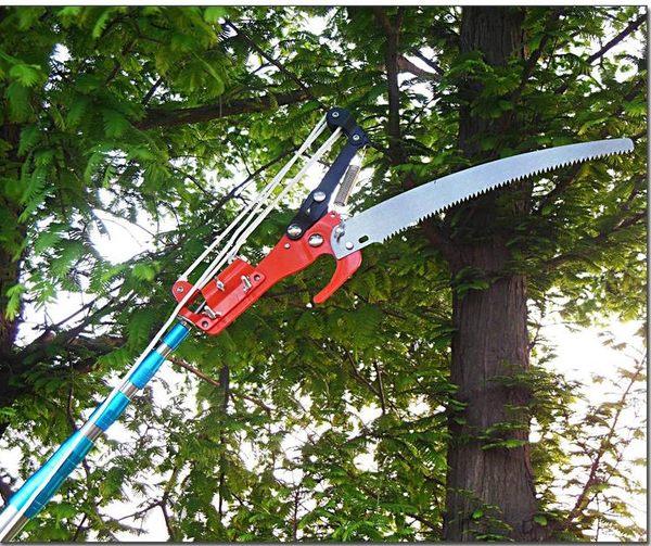 618大促 加固5/6/7米修枝剪高枝剪伸縮高空剪鋸樹枝摘果器剪刀香椿槐花
