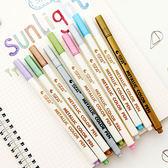 【BlueCat】STA斯塔金屬感彩色油漆筆 彩色中性筆