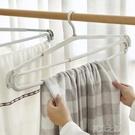 曬衣架 曬床單神器被單大衣架子家用伸縮掛衣架塑料加長晾浴巾衣撐毛巾架