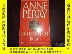 二手書博民逛書店RESURRECTION罕見ROW,Anne PerryY198