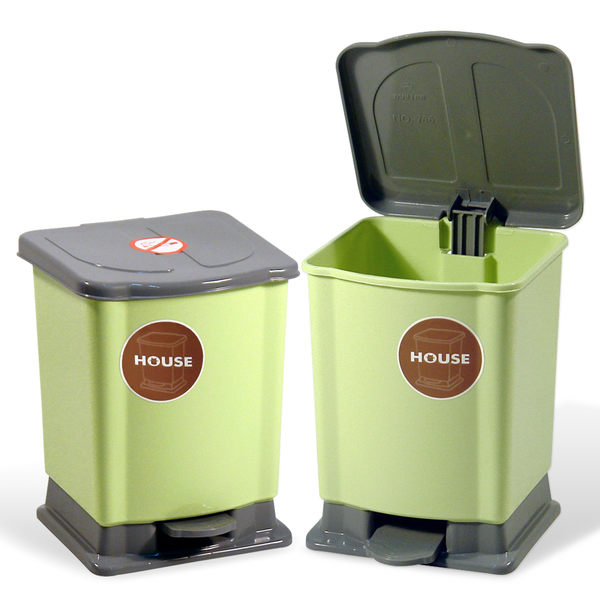 好媽媽踏式垃圾桶-迷你-2入-(TR63)