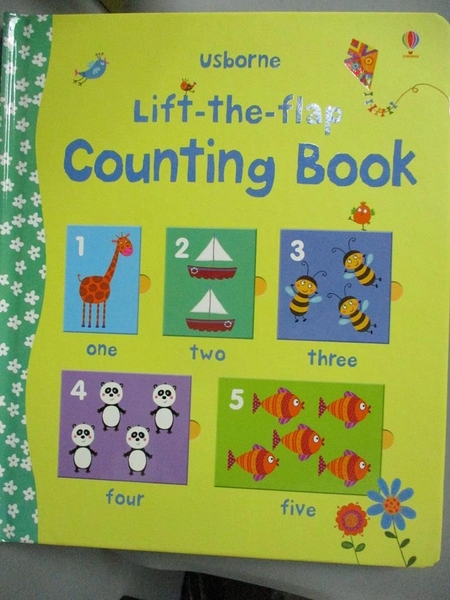 【書寶二手書T7/少年童書_ZJG】Lift-the-flap Counting book_Felicity Brooks,Corrine Bittler