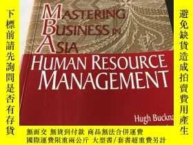 二手書博民逛書店MASTERING罕見BUSINESS IN ASIA:HUMAN RESOURCE MANAGEMENTY2