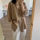 襯衫女外穿2021春夏季新款復古港味風設計感小眾棉麻防曬百搭上衣 設計師