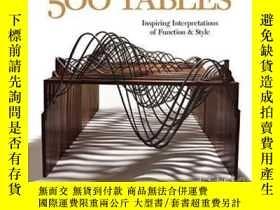 二手書博民逛書店500罕見TablesY364682 Andrew Glasgow Lark Books 出版2009