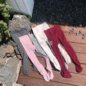 嬰兒襪 LUSON 女寶寶連體襪春秋小童褲襪純棉兒童連襪褲嬰兒打底褲襪 珍妮寶貝