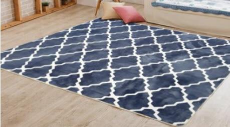 法萊絨地毯茶幾防滑 可定做 1.4×2.0米【藍星居家】