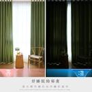 限定款簡約落地窗窗簾 寬100x高130公分(買一送一) 7色可選窗簾