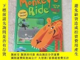 二手書博民逛書店Monkey s罕見Ride(Sails Sailing Sol
