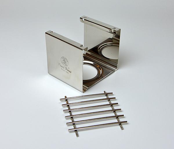 【四方爐架】寶馬牌 台灣製造 方形白鐵爐架 瓦斯爐架 咖啡架 煮咖啡 2562 [百貨通]