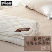 保潔墊 / 床包式 雙人加大【樂芙物理性防螨保潔墊】抗菌防螨處理 戀家小舖台灣製造AGB300