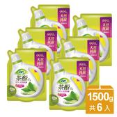 OP天然茶酚低敏防螨洗衣精-補充包1500ml(6入/箱)