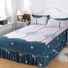 床罩 防滑韓版床裙床罩單件席夢思保護罩床...