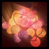 婚禮彩燈 藤球燈ins超火LED燈串少女心房間裝飾燈彩燈求婚表白婚禮燈 玩趣3C