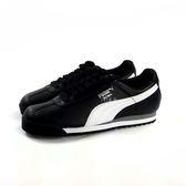 PUMA Roma Basic 輕量 皮革 慢跑鞋 運動鞋《7+1童鞋》8186 黑色