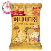 【韓國 HAITAI】海太 蜂蜜奶油洋芋片 60g/包
