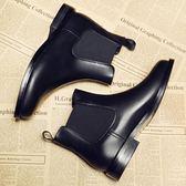 店長推薦▶靴子女小跟短靴女平底馬丁靴英倫風短筒韓版學生百搭