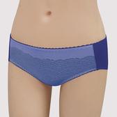 【瑪登瑪朵】我罩妳提托  低腰寬邊三角萊克褲(紫藤藍)(未滿3件恕無法出貨,退貨需整筆退)
