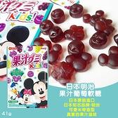 (即期商品) 日本明治果汁葡萄軟糖/包