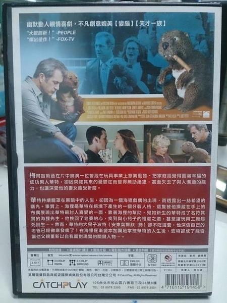 挖寶二手片-Y118-076-正版DVD-電影【海狸先生】-梅爾吉勃遜 茱蒂福斯特 珍妮佛勞倫斯(直購價)
