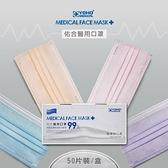 """【南紡購物中心】""""佑合""""醫用口罩 未滅菌 50片/2盒共100片"""