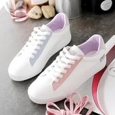 鞋子女韓版學生原宿風小白鞋女平底板鞋
