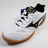 (AY) MIZUNO 美津濃 CROSSMATCH PLIO CN3 桌球鞋 - 81GA183609 白x黑 [陽光樂活=]