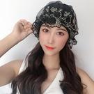 2021新款韓國蕾絲泳帽女pu布料微防水長短發護耳不勒頭時尚泡溫泉 設計師