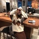 長袖針織裙洋裝秋冬裙子套裝兩件套毛衣氣質小香風衣服冬季 莎瓦迪卡