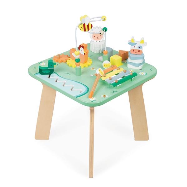 【法國Janod】幼兒智能遊戲桌