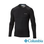 Columbia 男 OH保暖快排長袖上衣-黑色 【GO WILD】