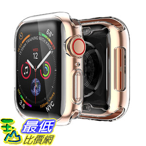 [8美國直購] 保護套 Smiling Case for Apple Watch Series 4 & Series 5 40mm with Built in TPU Screen Protector 40mm B07JZ69XJ9