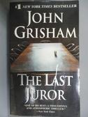 【書寶二手書T9/原文小說_JQZ】The Last Juror_Grisham, John