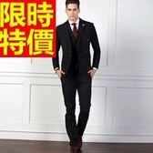 西裝套裝 包含西裝外套+褲子 男西服-上班族制服焦點典型型好搭54o39[巴黎精品]
