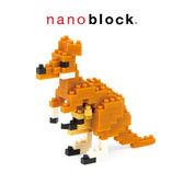【日本KAWADA河田】Nanoblock迷你積木-袋鼠NBC-092