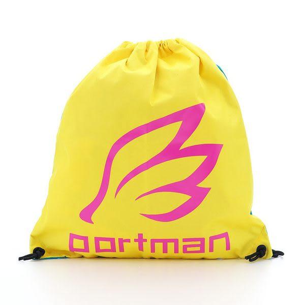PORTMAN 繽紛束口袋(黃/藍配色) PM141001