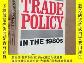 二手書博民逛書店TRADE罕見POLICY IN THE 1980s 20世紀8