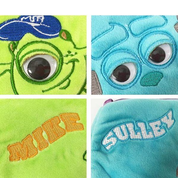 里和Riho 怪獸大學日系收納包 化妝包 旅行包 萬用包 外出包 筆袋 毛怪 大眼仔 迪士尼