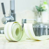 ✭慢思行✭【T14-2】廚房水槽縫隙防汙條邊條 防塵 防油 居家 水槽 防霉 防水 密封 膠條 黏貼