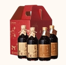 【台灣源味本舖】豆油伯主廚好醬料理組:缸底醬油2+金豆醬油2(童趣禮盒)