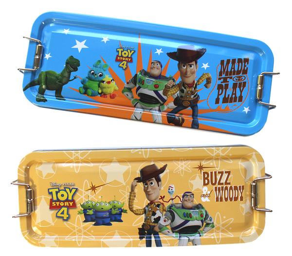 【卡漫城】 玩具總動員 三層 鉛筆盒 剩藍色 ㊣版 鐵筆盒 Toy Story 三眼怪 巴斯光年 胡迪 抱抱龍