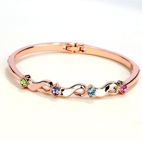 梨衣莎頂級奧地利水晶戀夏手環