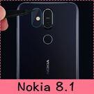 【萌萌噠】諾基亞 Nokia 8.1  高清防爆防刮 柔性鋼化鏡頭膜 9H硬度 保護膜 保護貼 2片裝