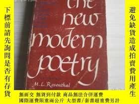 二手書博民逛書店the罕見new modern poetry 新的現代詩歌Y1712 the new modern poetr