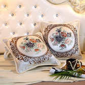歐式沙發靠墊抱枕套不含芯客廳正方形靠枕床頭抱枕家用床上大靠背YYP 歐韓流行館
