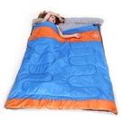 睡袋(雙人)快速收納-輕巧隨行情侶戶外保...