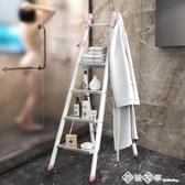 奧鵬折疊梯子家用室內多功能爬梯小樓梯便攜扶梯四五步加厚人字梯 西城故事