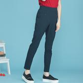 【中大尺碼】MIT釘釦袋造型薄布長褲