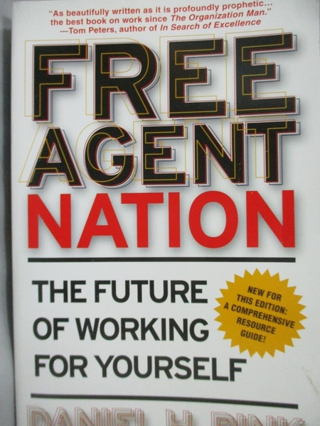 【書寶二手書T8/傳記_YFD】Free Agent Nation: The Future of Working for