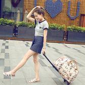 拉桿包 大容量旅行包行李包手提拉桿折疊登機包 KB3410【每日三C】TW